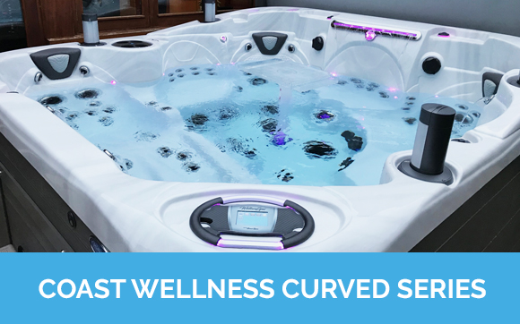 Coast Wellness Curved Series Hot Tubs