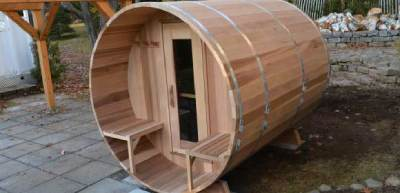 Award Leisure Cedar Barrel Saunas