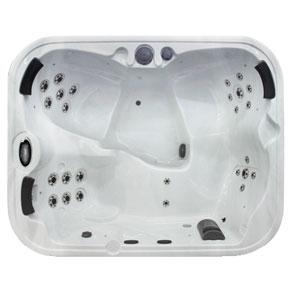 omega microsilk 4 person hot tub coast spas award. Black Bedroom Furniture Sets. Home Design Ideas