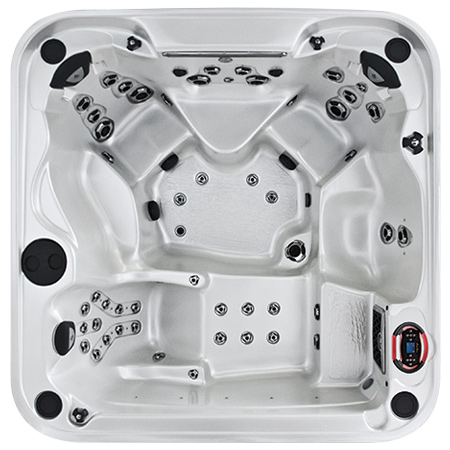 Coast Radiance Curve Lounge Luxury Series Hot Tub